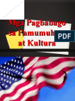 Mga Pagbabago Sa Pamumuhay Panahon Ng Amerikano