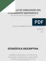 DESARROLLO DE HABILIDADES DEL PENSAMIENTO MATEMATICO