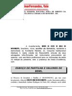 ESBOÇO DE PARTILHA E VALORES DE BENS DE MARIA DE JESUS.doc 1