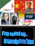 Pag-Unlad Ng Nasyunalismo Sa Tsina
