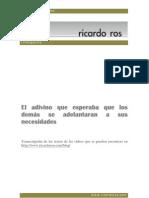 Ricardo Ros - El adivinador de pensamientos