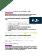 cours complet phonétisme et prononciation du français
