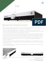 Perreaux Audiant 80i Integrated Amplifier Brochure