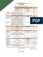 33. Agenda Semanal Octubre 4 Al 8 de 2021