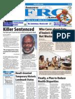 Baltimore Afro-American Newspaper, April 16, 2011