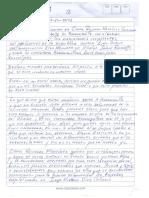 """Carta del """"Negro Ober"""" a las autoridades"""