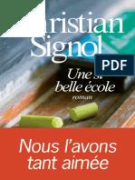 Christian Signol - Une Si Belle École