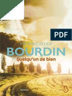 Francoise Bourdin - Quelqu'Un de Bien