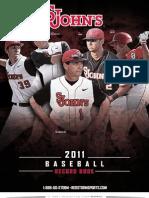 2011 STJ Baseball