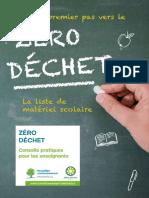 ZeroDechet_la Liste Du Matérierl Scolaire Web