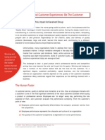 Creating Exceptional Customer Service IAG White Paper