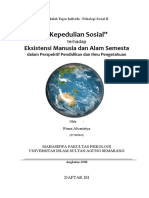 Tugas Individu Psikologi Sosial