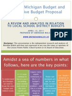 State of MI_School Funding Analysis_April 2011