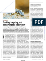 2021Tracking, targeting, and conserving soil biodiversity