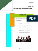 El Debate en El Arte de La Comunicacion (8)