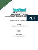 Monografia de La Fisiopatologia de La Hepatitis Viral