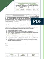 SST-FT-43 - Compromiso De Cumplimiento De Las Recomendaciones Médico Laborales