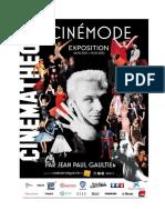 Exposition Cinémode par Jean Paul Gaultier à la Cinémathèque française
