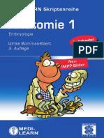 [Medi-Learn Skriptenreihe] Anatomie 1, Embryologie (3.Aufl.)