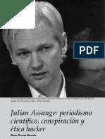 David Villena - Julian Assange periodismo científico, conspiración y ética hacker