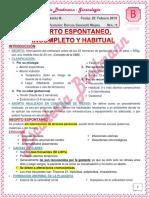 09_teo Ginecologia_bloque B_aborto Espontaneo, Incompleto y Habitual_25!02!19