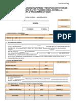 Solicitud Regularizacion de Ampliacion hasta 25 m2 de Vivienda Social acogida a Ley 20.251