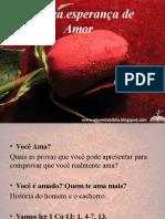 A Única Esperança de Amor (1)