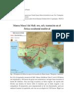 Mansa Musa I, emperador de Malí