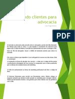 Atraindo clientes para advocacia - Tiago Pereira
