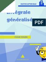 Intégrale généralisée (3)