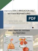 INERVACION E IRRIGACION DEL SISTEMA RESPIRATORIO