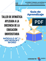 10000563_Guía de Aprendizaje - Módulo N° 1 Microsoft Word