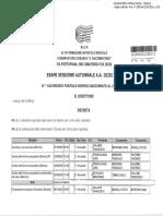 Calendario Parziale Esami Biennio Sessione Autunnale a.a. 2020-2021 Aggiornato Al 21-09-2021