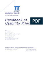 handbook of usability principles
