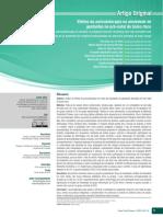 Efeitos da auriculoterapia na ansiedade de gestantes