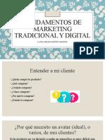 Fundamentos de Marketing tradicional y digital - entender a mi cliente