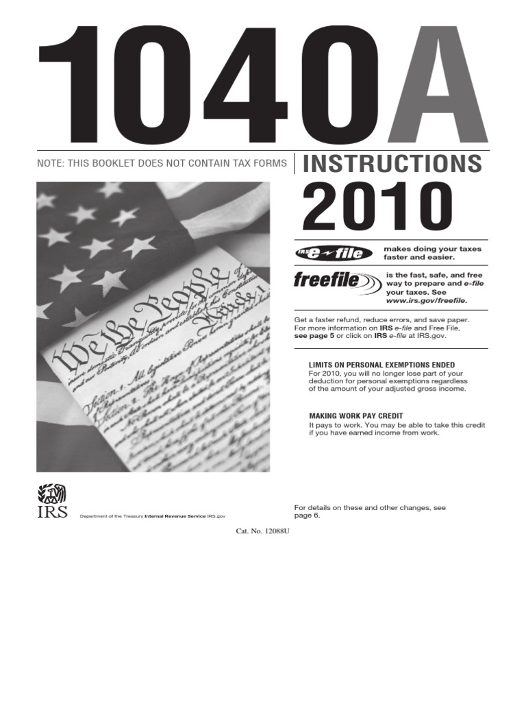 i1040a | Irs Tax Forms | Earned Income Tax Credit