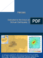 China Earthquake - Hero