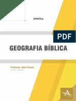 Apostila Modulo 225 Geografia Biblica - Osiel Gomes