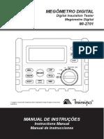 Manual Megometro