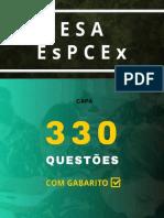 330 Questões com gabarito (ESA - EsPCEX)