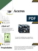 Aceros. Clasificación. Tipos. Normas. Aceros comunes al Carbono Presentación 1