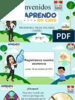 ACTIVIDAD 01 - COMUNICACIÓN 04 DE OCTUBRE