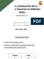 Reporte y Graduación de la Morfología Anormal
