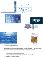 Aula 3 Estrutura da água. Atividade de água. Conteúdo de água e estabilidade dos alimentos