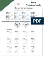 Actividad de Matematica Agosto 28 Del 2021
