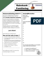 vv IJmuiden - Familiedag 2011 - Inschrijfformulier