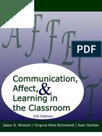 CommunicationAffectAndLearning