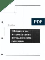 005e-Business e Sua Integração Com Os Sistemas Corporativos de Gestão