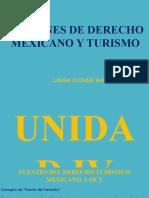 14 Nociones de Derecho Mexicano y Turismo CLASES LT 1 1-OCT-2021